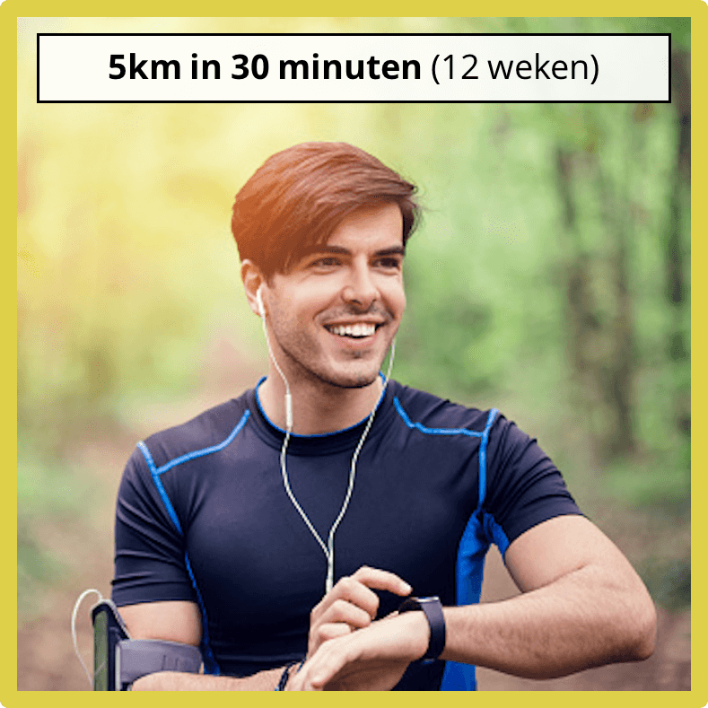 5km in 30 minuten